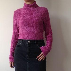 Ça Va De Soi - Soft & Fuzzy Pink Sweater